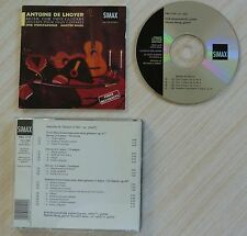 RARE CD ALBUM ANTOINE DE LHOYER MUSIC FOR TWO GUITARS 18 TITRES 1994