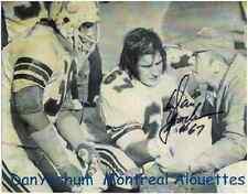 "Dan Yochum Autographed Montreal Alouettes 8"" x 10"" Photo w/COA Certification."