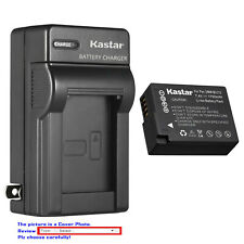 Kastar Battery Wall Charger for Panasonic DMW-BLC12 Lumix DMC-G7HK DMC-GX8KBODY