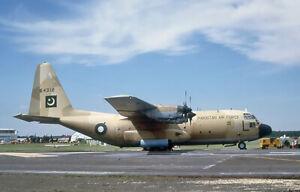 Original aircraft slide PakistanA/F C130 64312
