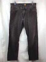 J Crew 770 Corduroy Jean Pants Men's Size 32 X 29 Brown Straight Leg Cotton