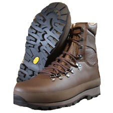 BRITISH ARMY ALTBERGS BROWN LEATHER BOOTS SIZE 8 L NEW  BOOTS  GORE TEX CADETS