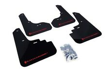 Rally Armor Mud Flaps Guards for 05-09 Subaru Legacy (Black w/Red Logo)