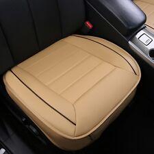Universal Auto PU Leder 3D Car Sitzauflage Sitzbezüge Sitzkissen Sitzmatte Beige