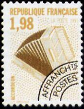 "FRANCE PREOBLITERE TIMBRE STAMP N°214 ""INSTRUMENTS, ACCORDEON"" NEUF xx TTB"