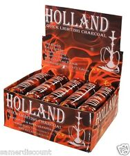 10  ROLLS  HOLLAND  CHARCOAL  FAST LIGHTNING  100 ROUND PIECE *GREAT