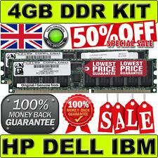4GB (2x 2GB) DELL PC2100R CL2.5 ECC DDR 266Mhz equiv to KINGSTON KTC-ML370G3/4G