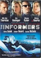 THE INFORMERS/Billy Bob Thornton, Kim Basinger/NEW DVD/BUY ANY 4 ITEMS SHIP FREE