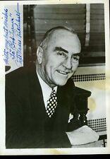 Capt Eddie Richenbacker Jsa Certified Signed 5x7 Photo Autograph Authentic