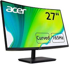 "165Hz Curved Monitor Acer ED270RPbiipx 27"" Full HD AMD FreeSync VA LCD ZeroFrame"