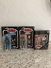 Star Wars Black Series 40th Anniversary Lot. Luke, Yoda, Lando, Tie Pilot