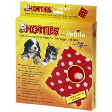 Hotties Microwave Heat Pad Hot Water Bottle Dog Cat Pet Warmer Wipe Clean