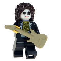 Paul Stanley - Brand New Lego Moc Minifigure Gift For Kids, Includes Guitar