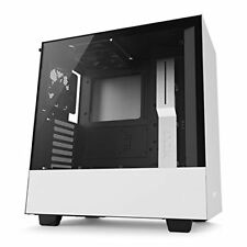Nzxt Ca-h500b-w1 H500 Midi-tower White Computer Case Mid-tower - secc Steel/temp