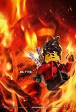 The Lego Ninjago Movie Poster (24x36) - Be Fire, Red Ninja, Kai, Lloyd v7