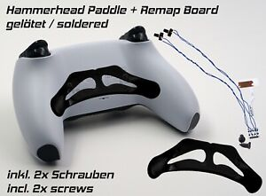 Rimappare Board Saldato + Hammerhead Paddle Set PS5 PLAYSTATION Dualsense Tasti