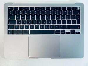 """Apple MacBook Air 13"""" 2020 A2337 M1 Top Case Palmrest UK Keyboard, Battery, Grey"""