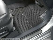 Genuine Toyota Car Rubber Floor Mats Avensis 08>11 New PZ49L-T0356-RJ OE New Set