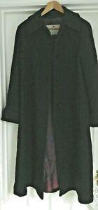 Ladies Dark Navy Aquascutum Winter Coat Size 12 <GM6