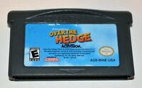 OVER THE HEDGE NINTENDO GAMEBOY ADVANCE SP GBA
