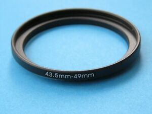 43.5mm to 49mm Step Up Step-Up Ring Camera Lens Filter Adapter Ring 43,5mm-49mm