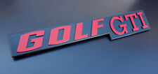 VW Red Anniversary Golf GTI VW MK1 MK2 MK3 MK4 MK 1 2 3 4 5 Badge Emblem Pirelli