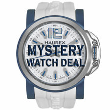 Haurex Italy Men's MYSTERY Watch Deal! MSRP B/W $240-$1,050 Deal Price=$49 NEW