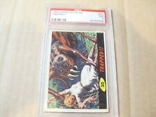 """MARS ATTACKS """"TRAPPED"""" CARD # 30 GRADED BY PSA NM 7"""
