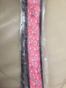 Vineyard Vines Pink Belt_Size MEDIUM_100% Cotton_40 inch  L