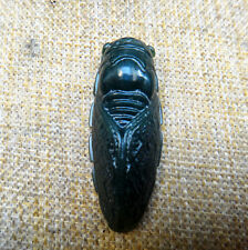 China and nephrite pendant cicada Lucky Charms