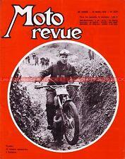 MOTO REVUE 1879 SUZUKI AS 50 A 70 MOTOBI 125 250 ; Usine VESPA PIAGGIO CIAO 1968