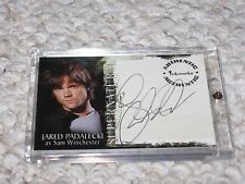 Supernatural Season 1 Inkworks NM Auto Jared Padalecki Sam Winchester A1