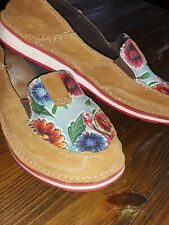 Women's Size 7.5 B Ariat Cruiser Floral Print Style 10023016