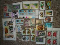 Job lot of 58 Postage Stamps From The West Indies new and used