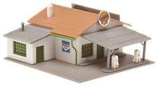 Faller Spur N 232502 Shell Tankstelle / Shell Gas Station