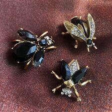 Sweet Romance Elvira's Queen Bee Black Pin Trio ~Handcrafted in California~
