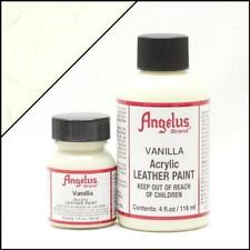 Angelus Acrylic Leather Paint Vanilla 4oz Colour Shoes/Sneakers Water Resistant
