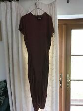 vintage bronze dress from 1980s size 10