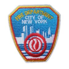 City Of New York Fire Department Iron On Patch Sew on Embroidered Transfer NYFD