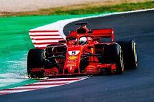 Ferrari F1 Formula One Automotive Car Wall Art Giclee Canvas Print Photo (205)