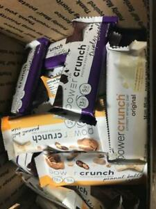 81 ASSORTED POWER CRUNCH / WAFER   /  NUTRITION BARS NO RESERVE LQQK