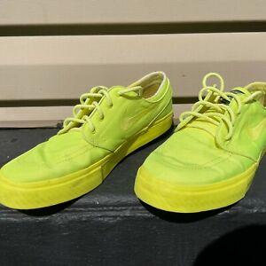 Nike SB Janoski Mens Lemon Twist Lace Up 333824-770 Skate Athletic Shoes Size 11