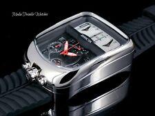 Invicta S1 Rally Chronozone Dakar Chronograph Triple Time Silicone Strap Watch