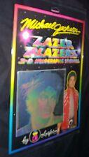 "Michael Jackson Colorforms Lazer Blazers 3-D Hologram Sticker ""Red Jacket"" 1984"