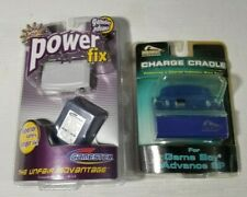 NEW NINTENDO Gameboy Advance SP Charge Cradle Sealed PELICAN POWER FIX Lot GBA