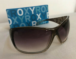 Brand NIB Roxy LOTUS wraparound Sunglasses -  brown gradient lenses/brown fr