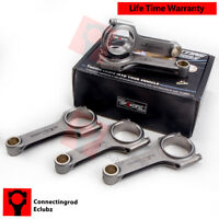 H-beam Connecting Rods for Fiat 2.0 coupe 5 cyl 20V Turbo Conrods 145mm 5x