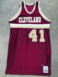 Cleveland Cavaliers Game Used Worn NBA jersey 1982-83 *see jacket auction*