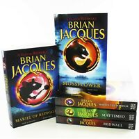 A Tale Of Redwall 5 Books Young Adult Collection Paperback Set By Brian Jacques