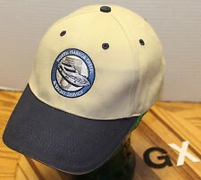 NORTH HARBOR DIESEL & YACHT SERVICE ANACORTES WASHINGTON HAT BEIGE VGC